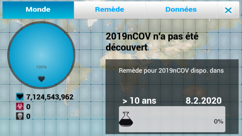Plague Inc...une simulation de coronavirus. Screen18