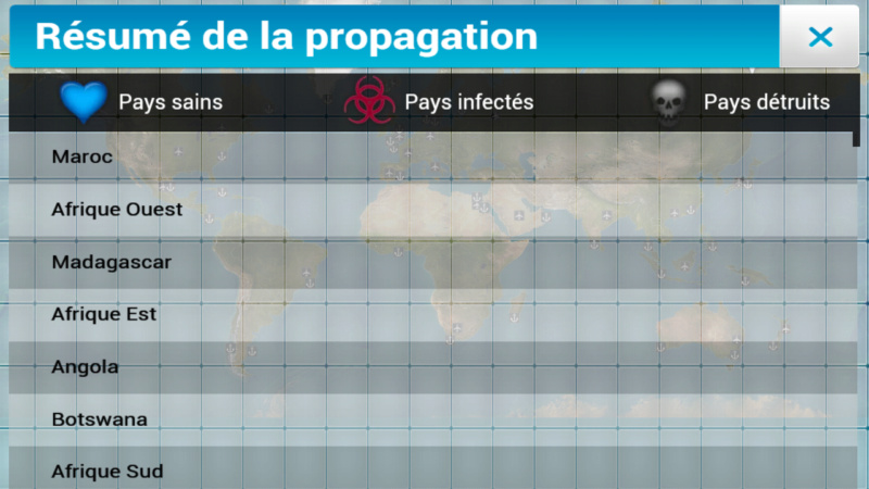 Plague Inc...une simulation de coronavirus. Screen20