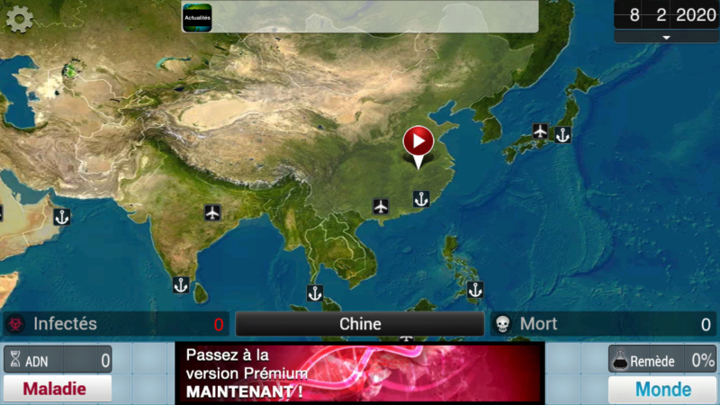 Plague Inc...une simulation de coronavirus. Screen21