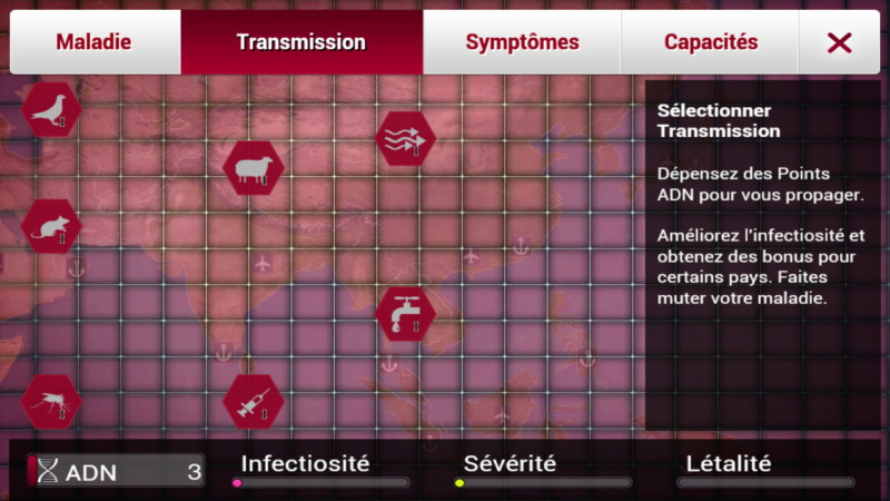 Plague Inc...une simulation de coronavirus. Screen24