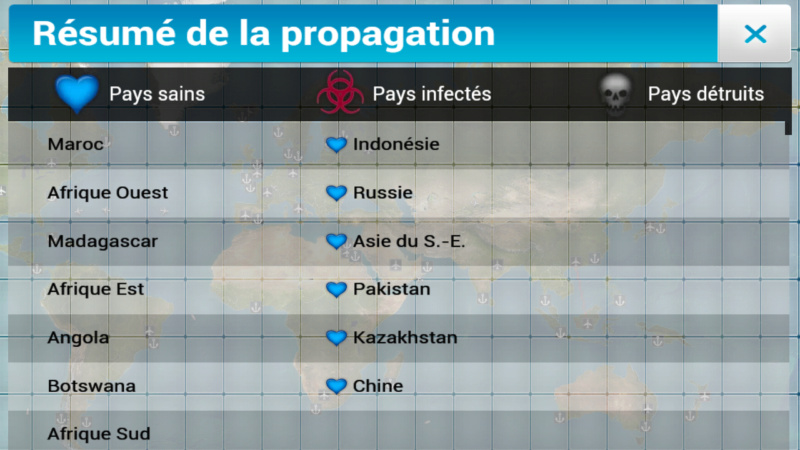 Plague Inc...une simulation de coronavirus. Screen29