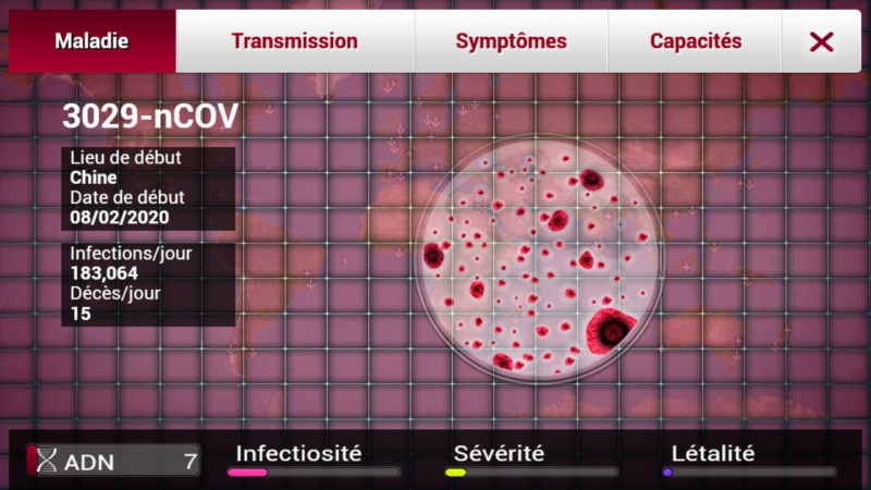 Plague Inc...une simulation de coronavirus. Screen30