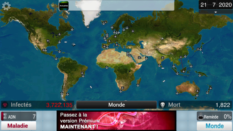 Plague Inc...une simulation de coronavirus. Screen31