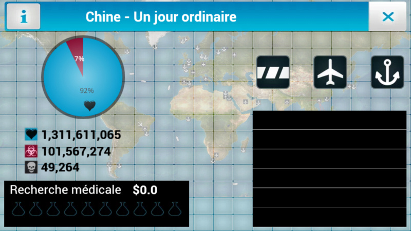 Plague Inc...une simulation de coronavirus. Screen33