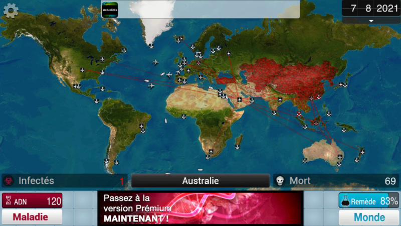 Plague Inc...une simulation de coronavirus. Screen39
