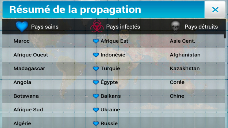Plague Inc...une simulation de coronavirus. Screen46