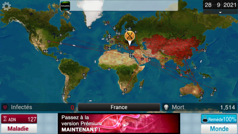 Plague Inc...une simulation de coronavirus. Screen47
