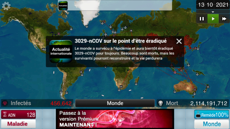 Plague Inc...une simulation de coronavirus. Screen48
