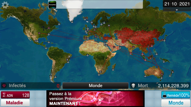 Plague Inc...une simulation de coronavirus. Screen49