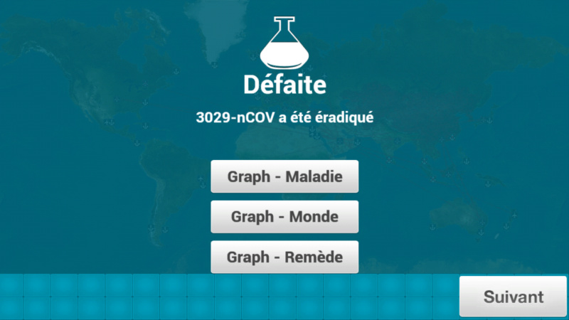 Plague Inc...une simulation de coronavirus. Screen50