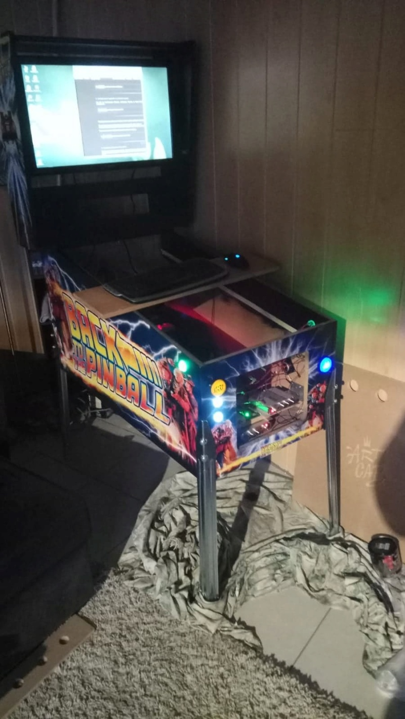 "[WIP] Projet Pincab 40"" Back To The Pinball 55587610"