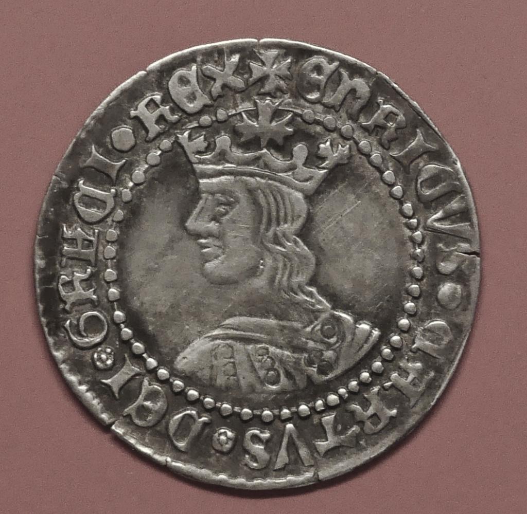 Moneda de Enrique IV año 1454-1475 1 real de plata Toledo Anvers31