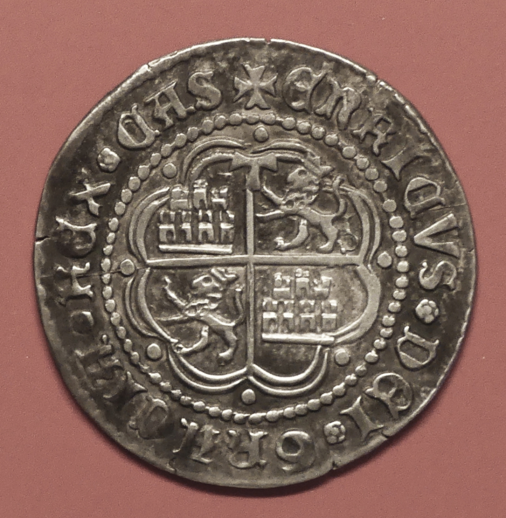 Moneda de Enrique IV año 1454-1475 1 real de plata Toledo Revers26