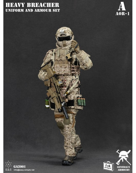 General - NEW PRODUCT: General's Armoury GA2001 1/6 Scale Heavy Breacher Uniform and Armour Set 0-528x10
