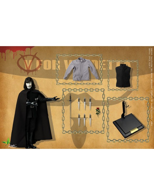 ToysPower - NEW PRODUCT: Toyspower CT013 1/6 Scale V for VENDETTA 2.0 0-528x12
