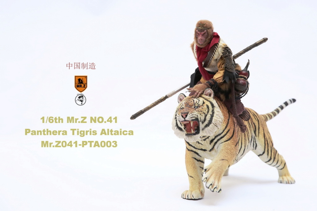 NEW PRODUCT: MR. Z: 1/6 Simulation Animal Model 41st - Siberian Tiger / Siberian Tiger [Planting Edition] - Full set of 3 colors 00064611