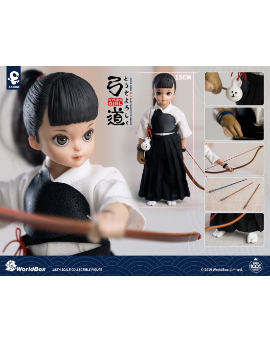 toddler - NEW PRODUCT: Lakor Baby 1/6 Scale Kyudo girl 001_zo10