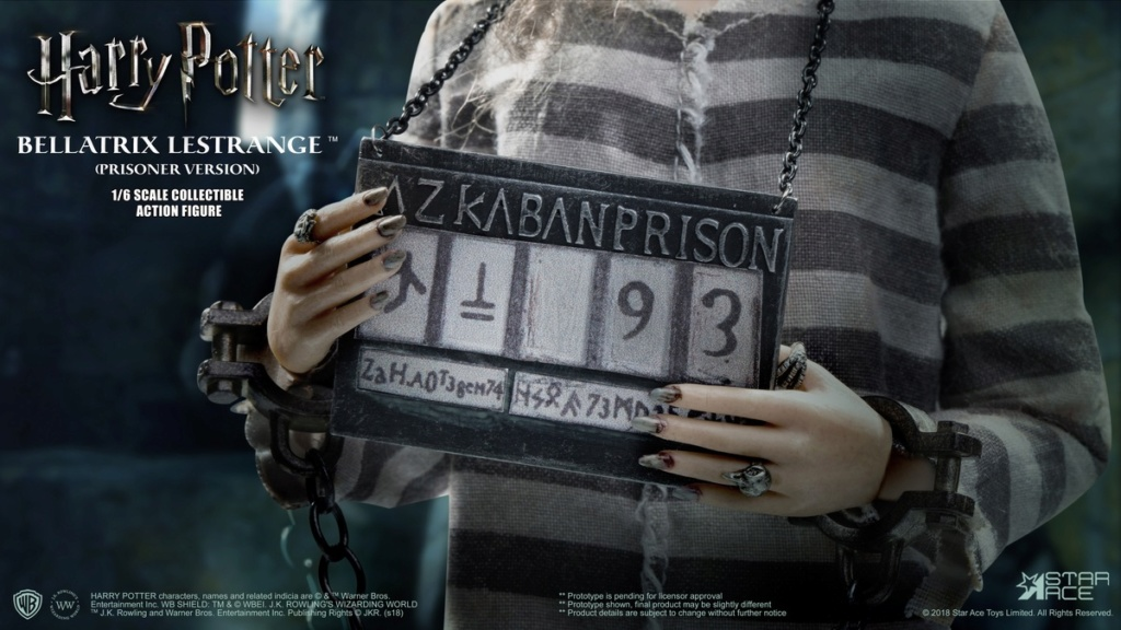 "starace - NEW PRODUCT: STAR ACE TOYS New: 1/6 ""Harry Potter and the Half-Blood Prince"" - Bella [Prisoner Edition] 00292410"