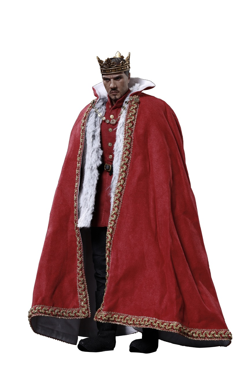 CooModel - NEW PRODUCT: COOMODEL: 1 / 6 alloy die-casting empire series - Henry VIII Lions version of the red dragon version of the Tudor version of the Wolf Hall scene 00354010