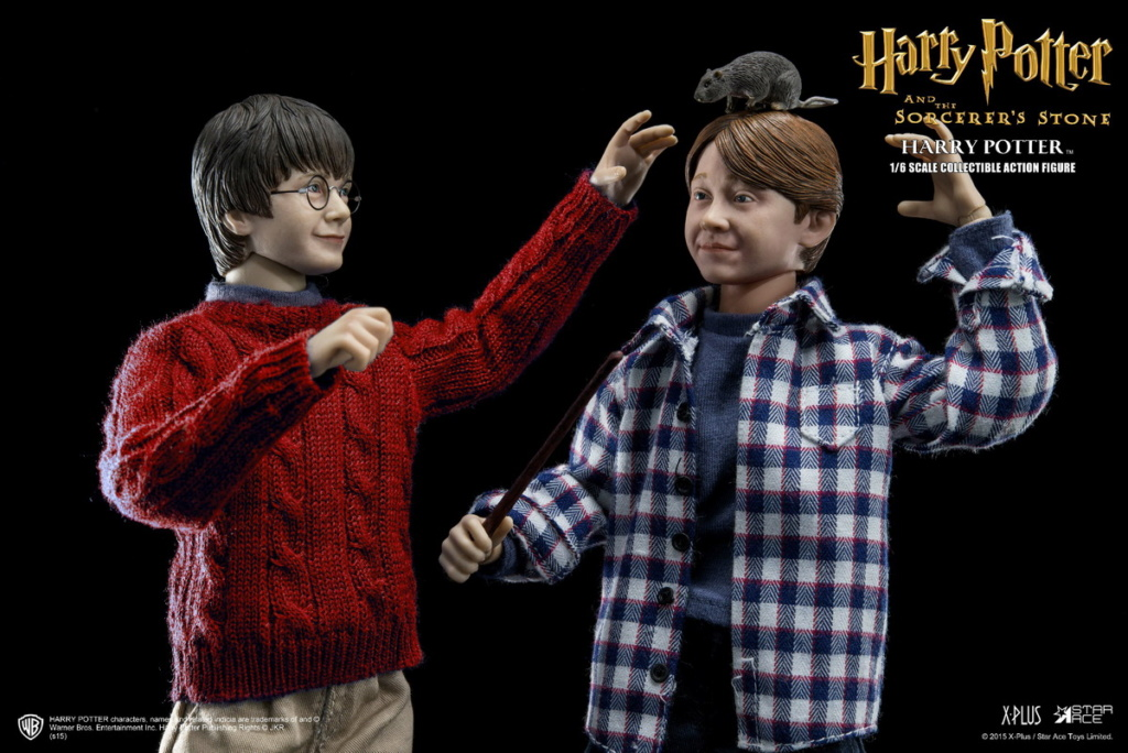 fantasy - NEW PRODUCT: Star Ace Toys: 1/6 Kids Christmas Series - Harry / Ron / Hermione / Costume Set A total of 5 (#XM0001-5) 00362010