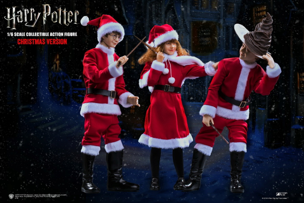 fantasy - NEW PRODUCT: Star Ace Toys: 1/6 Kids Christmas Series - Harry / Ron / Hermione / Costume Set A total of 5 (#XM0001-5) 00362110