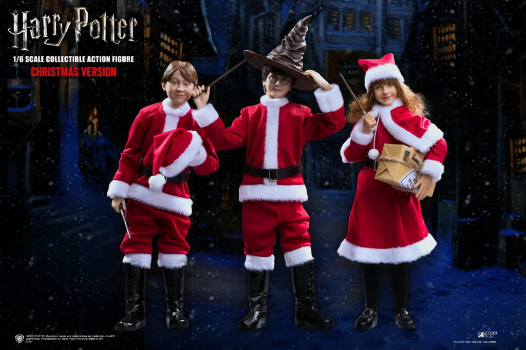 fantasy - NEW PRODUCT: Star Ace Toys: 1/6 Kids Christmas Series - Harry / Ron / Hermione / Costume Set A total of 5 (#XM0001-5) 00362310