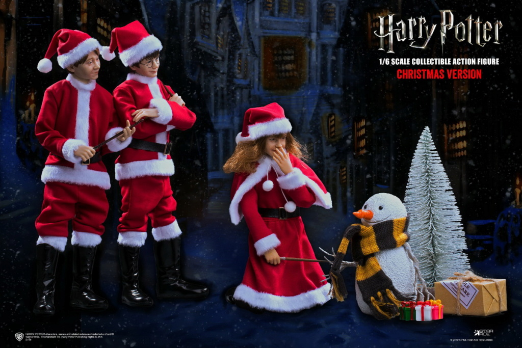fantasy - NEW PRODUCT: Star Ace Toys: 1/6 Kids Christmas Series - Harry / Ron / Hermione / Costume Set A total of 5 (#XM0001-5) 00362510
