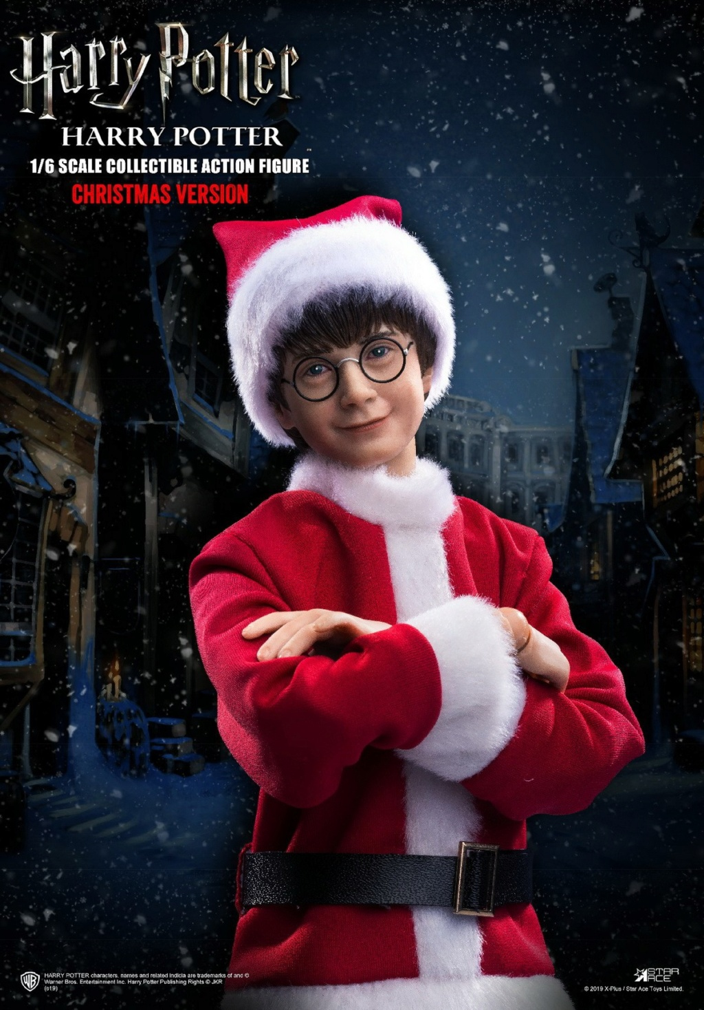 fantasy - NEW PRODUCT: Star Ace Toys: 1/6 Kids Christmas Series - Harry / Ron / Hermione / Costume Set A total of 5 (#XM0001-5) 00363010