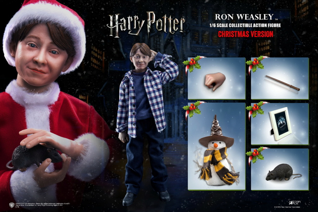 fantasy - NEW PRODUCT: Star Ace Toys: 1/6 Kids Christmas Series - Harry / Ron / Hermione / Costume Set A total of 5 (#XM0001-5) 00421310