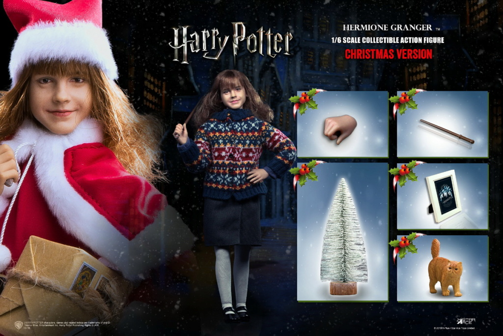 fantasy - NEW PRODUCT: Star Ace Toys: 1/6 Kids Christmas Series - Harry / Ron / Hermione / Costume Set A total of 5 (#XM0001-5) 00444510
