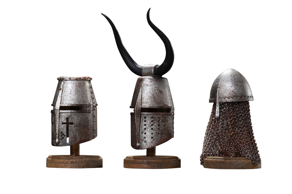 CooModel - NEW PRODUCT: COOMODEL: 1/6 Empire Series (Alloy Die Casting) - Crusader Helmet (Three Helmet Set) NO.SE059 00522610
