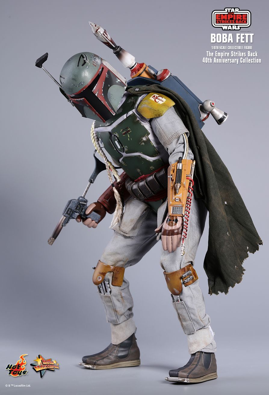 EmpireStrikesBack - NEW PRODUCT: HOT TOYS: STAR WARS: THE EMPIRE STRIKES BACK™ BOBA FETT™ (STAR WARS: THE EMPIRE STRIKES BACK 40TH ANNIVERSARY COLLECTION) 1/6TH SCALE COLLECTIBLE FIGURE 00841110