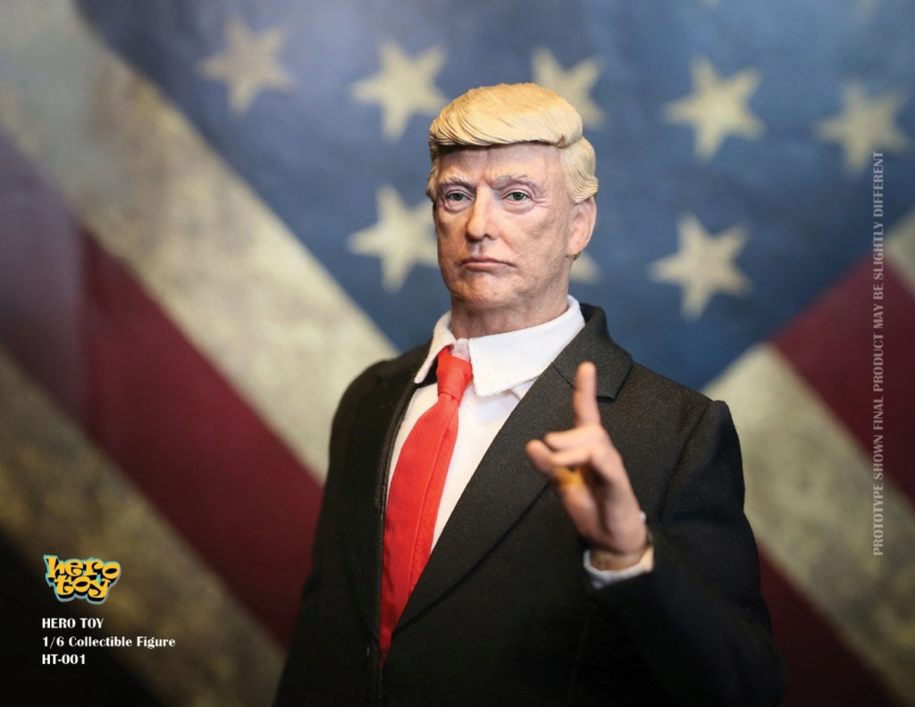 US - NEW PRODUCT: HEROTOY + Face Mask Play: 1/6 President 01073310