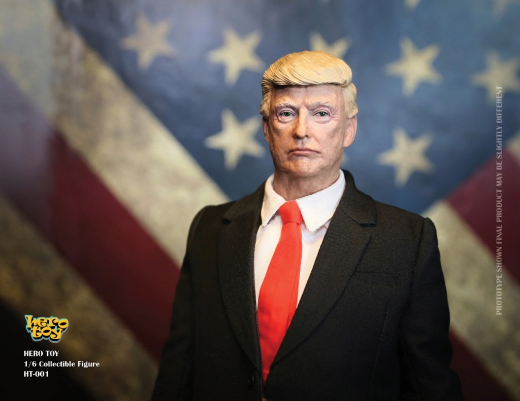 US - NEW PRODUCT: HEROTOY + Face Mask Play: 1/6 President 01074810