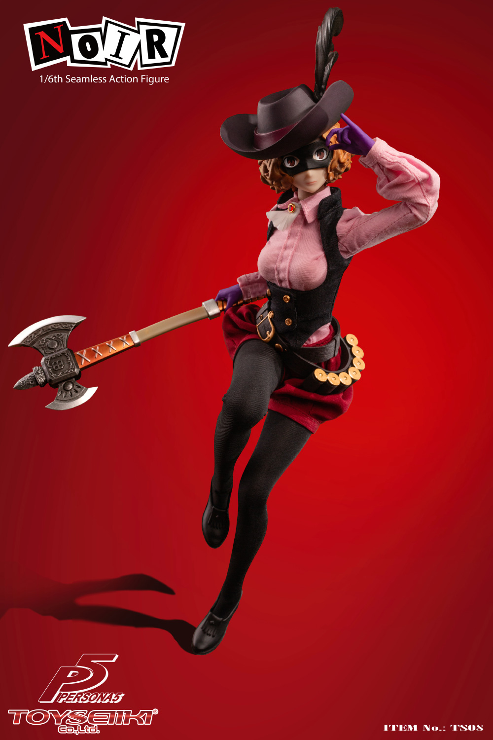 female - NEW PRODUCT: TOYSEIIKI: 1/6 Persona 5/PERSONA 5 - NOIR Movable TS08# 01105312