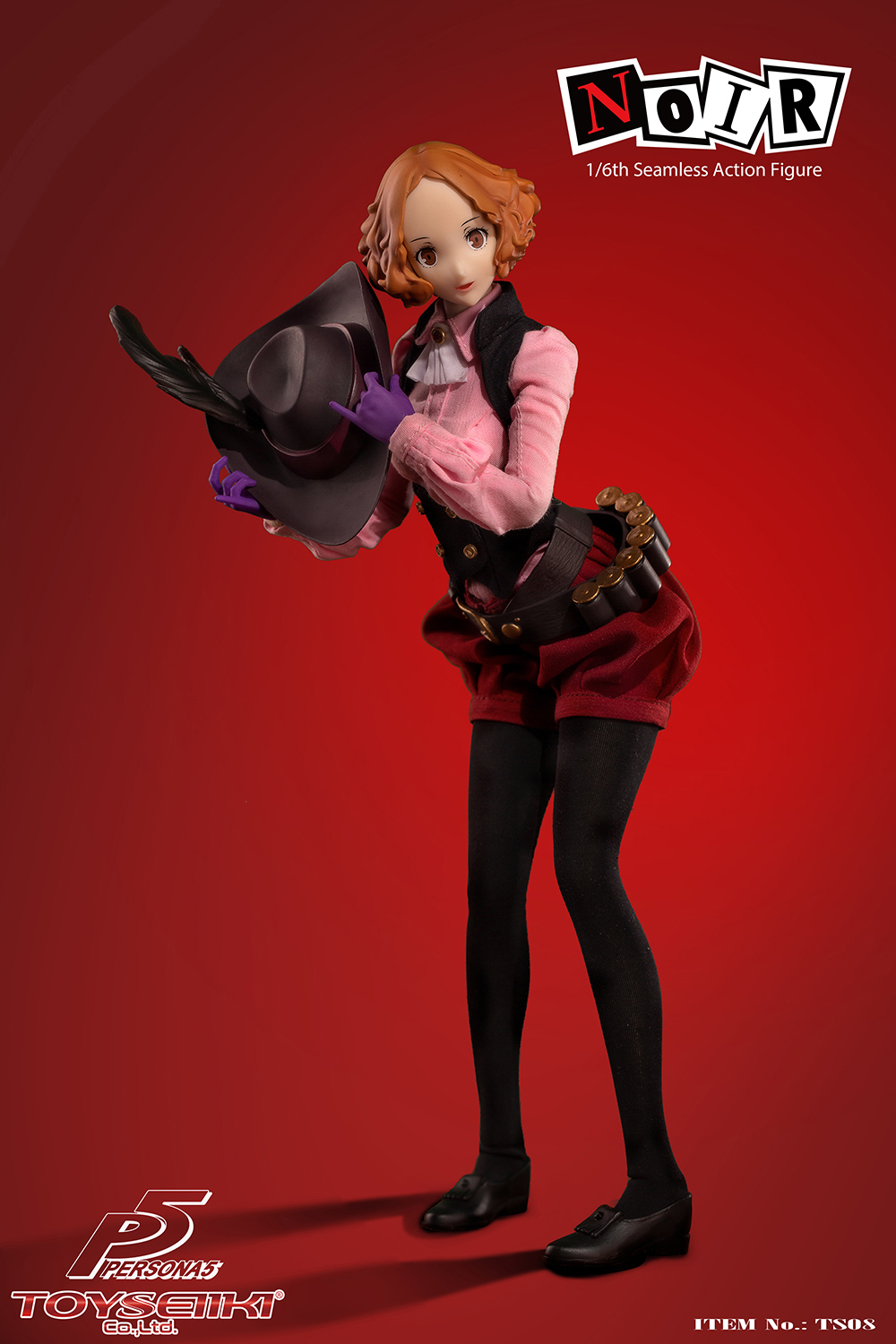 female - NEW PRODUCT: TOYSEIIKI: 1/6 Persona 5/PERSONA 5 - NOIR Movable TS08# 01105411