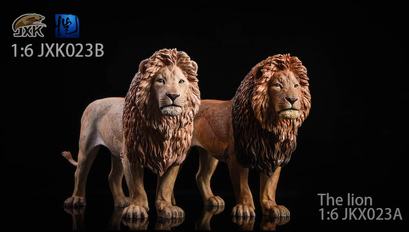 NEW PRODUCT: JXK New 1/6 Lion 2.0 Animal Model GK 01120910