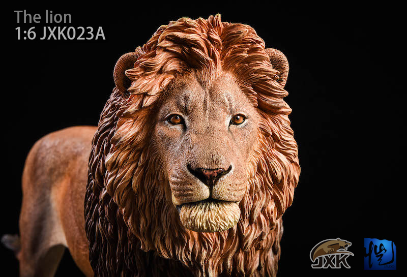 NEW PRODUCT: JXK New 1/6 Lion 2.0 Animal Model GK 01121110