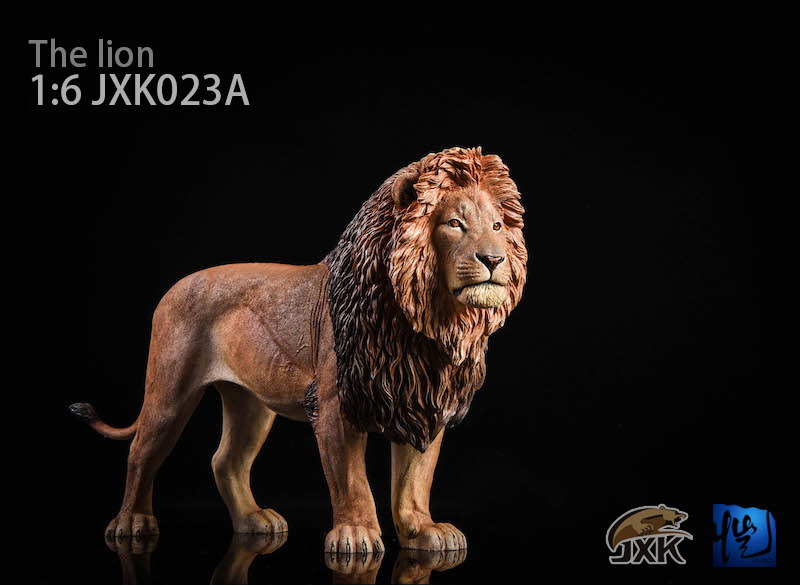 Lion - NEW PRODUCT: JXK New 1/6 Lion 2.0 Animal Model GK 01121210