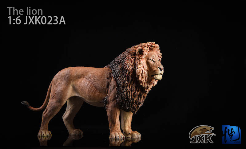 NEW PRODUCT: JXK New 1/6 Lion 2.0 Animal Model GK 01121211