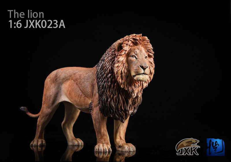 NEW PRODUCT: JXK New 1/6 Lion 2.0 Animal Model GK 01121212