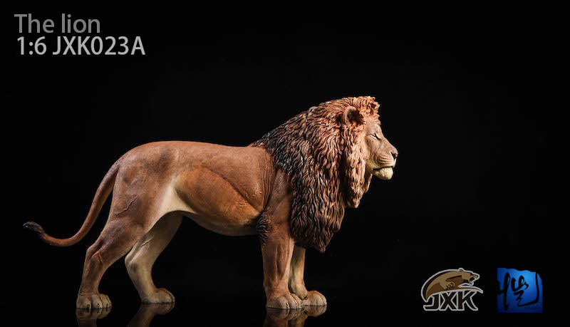 NEW PRODUCT: JXK New 1/6 Lion 2.0 Animal Model GK 01121310