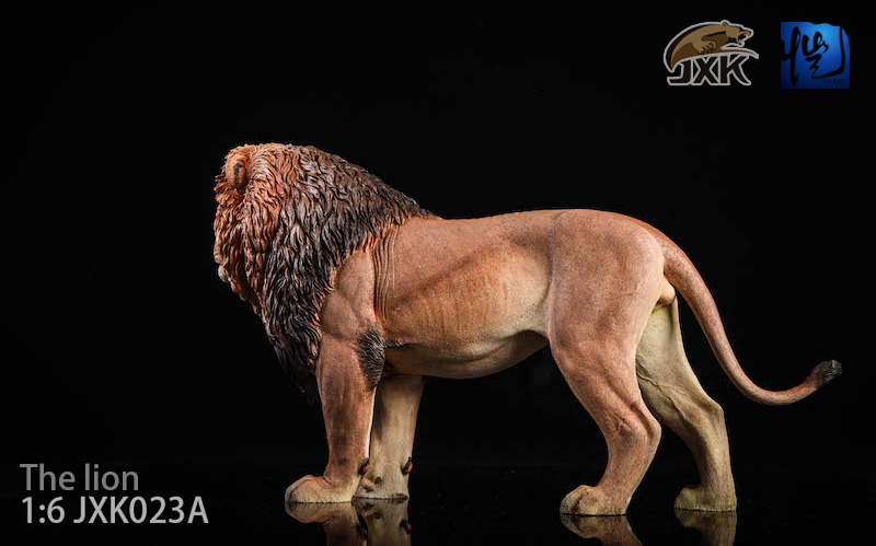 NEW PRODUCT: JXK New 1/6 Lion 2.0 Animal Model GK 01121511