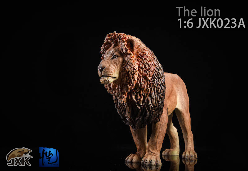 NEW PRODUCT: JXK New 1/6 Lion 2.0 Animal Model GK 01121610