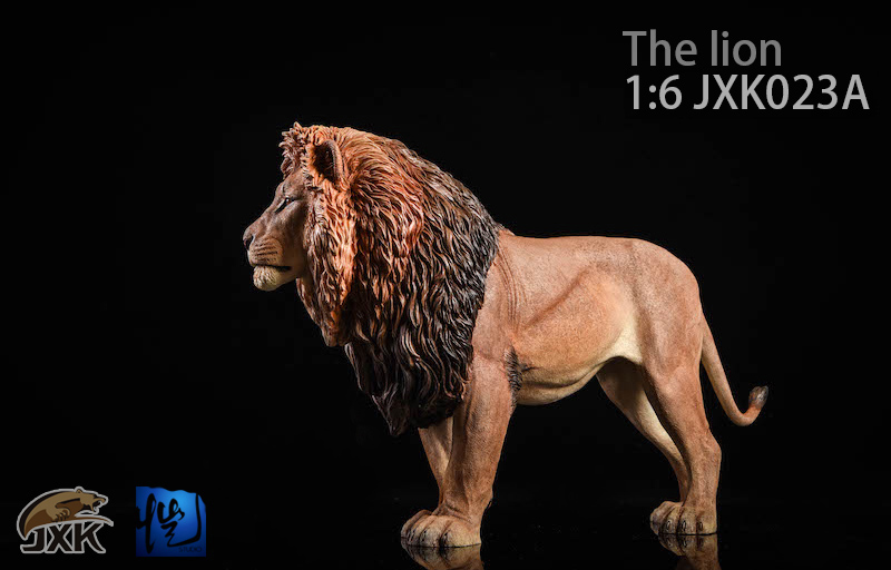 NEW PRODUCT: JXK New 1/6 Lion 2.0 Animal Model GK 01121611
