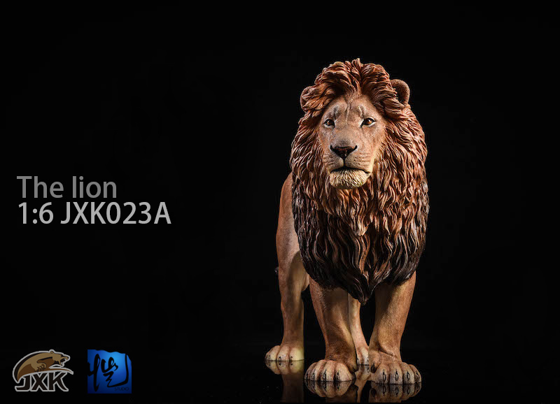 NEW PRODUCT: JXK New 1/6 Lion 2.0 Animal Model GK 01121710