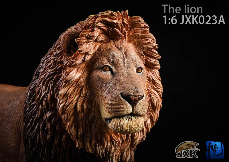 NEW PRODUCT: JXK New 1/6 Lion 2.0 Animal Model GK 01121711
