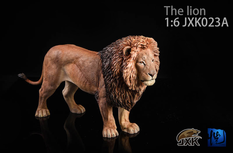 NEW PRODUCT: JXK New 1/6 Lion 2.0 Animal Model GK 01121810