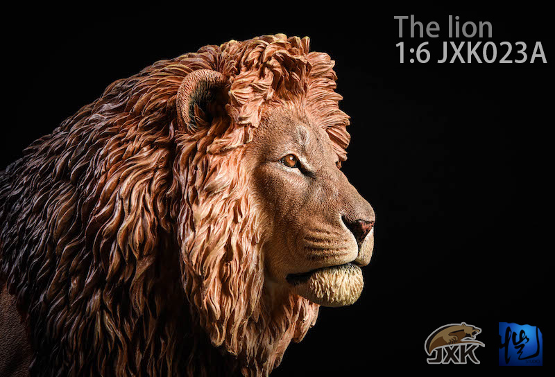 NEW PRODUCT: JXK New 1/6 Lion 2.0 Animal Model GK 01121811