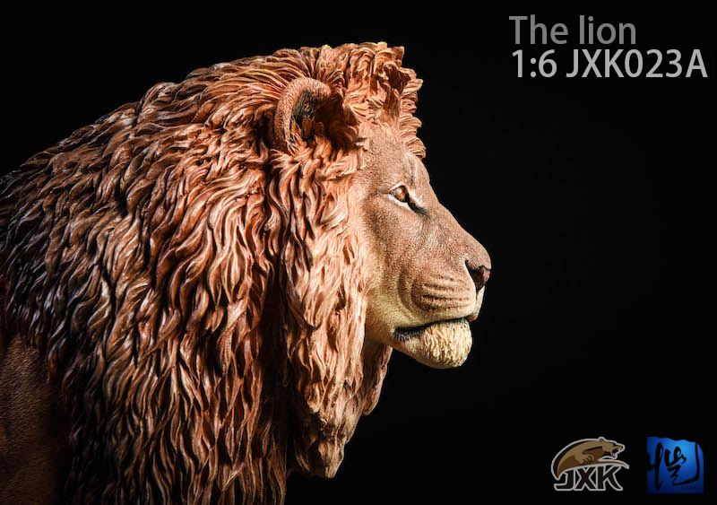 NEW PRODUCT: JXK New 1/6 Lion 2.0 Animal Model GK 01121910